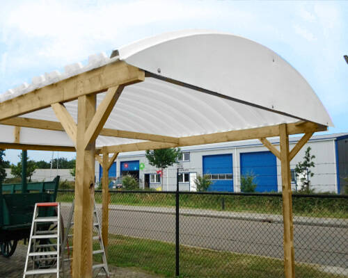 carport-geisoleerd-dak