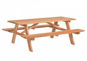 picknicktafel business hardhout