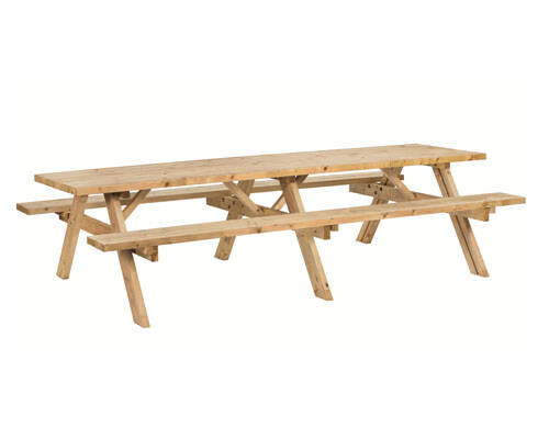 picknicktafel superieur geimpregneerd vuren