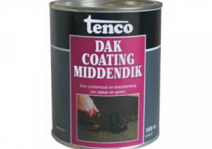 Tenco Dakcoating middendik 1 ltr